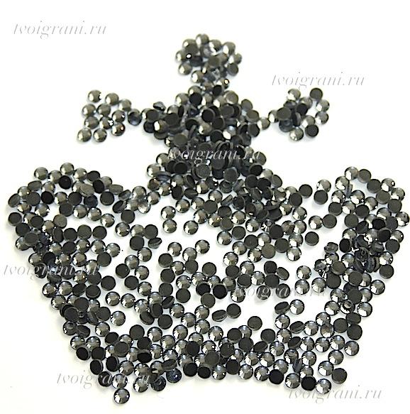 Стразы DMC Black Diamant  ss 20