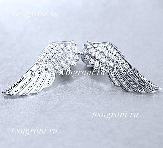 """Украшение на воротник """"Крылья ангела"""""""